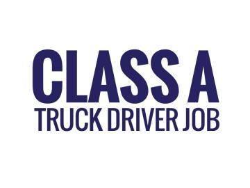 CDL Class A Drivers _Start working the same day_ (Homer Glen)